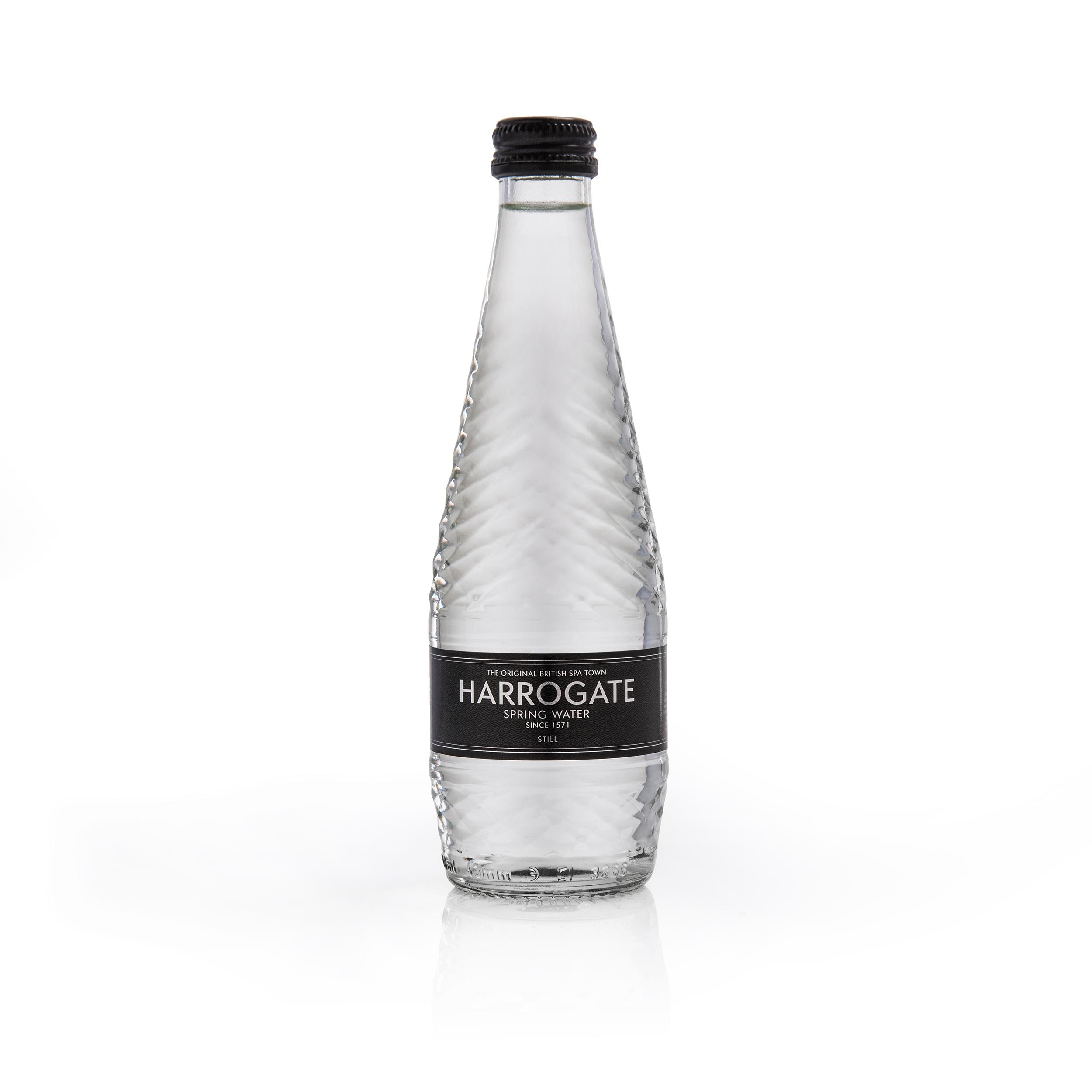 Harrogate Still Water Glass Bottle 330ml Ref G330241S [Pack 24]