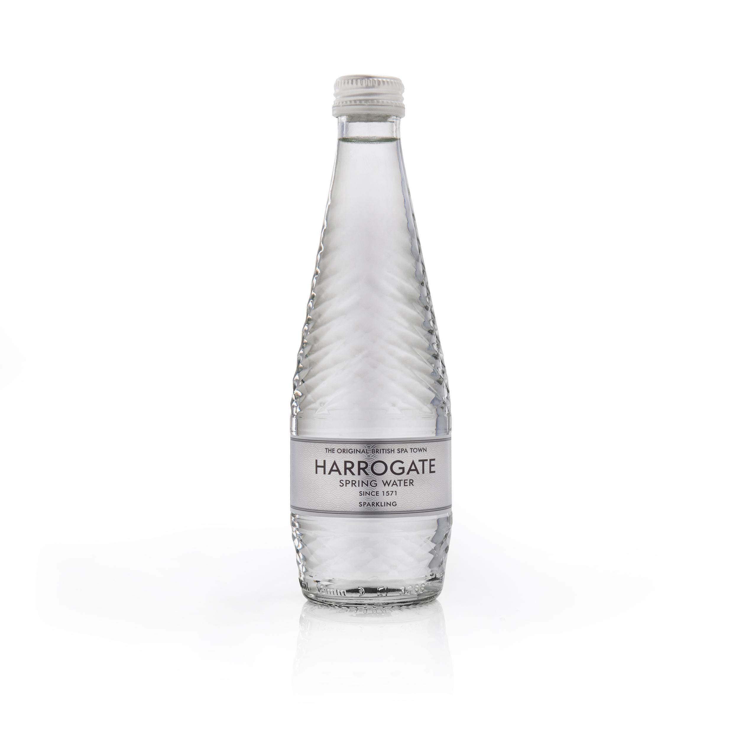 Harrogate Sparkling Water Glass Bottle 330ml Ref G330242C [Pack 24]