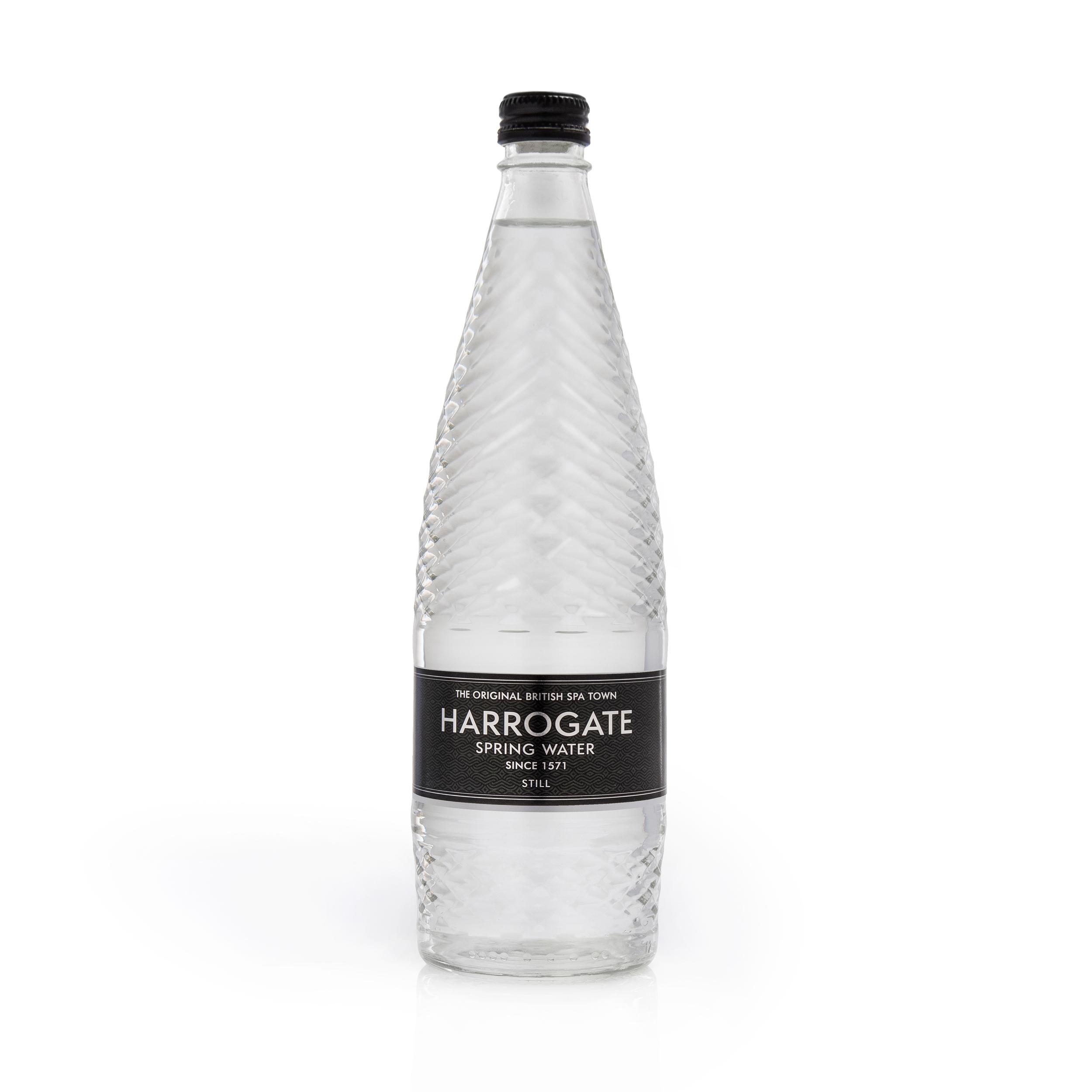 Harrogate Still Water Glass Bottle 750ml Ref G750121S [Pack 12]