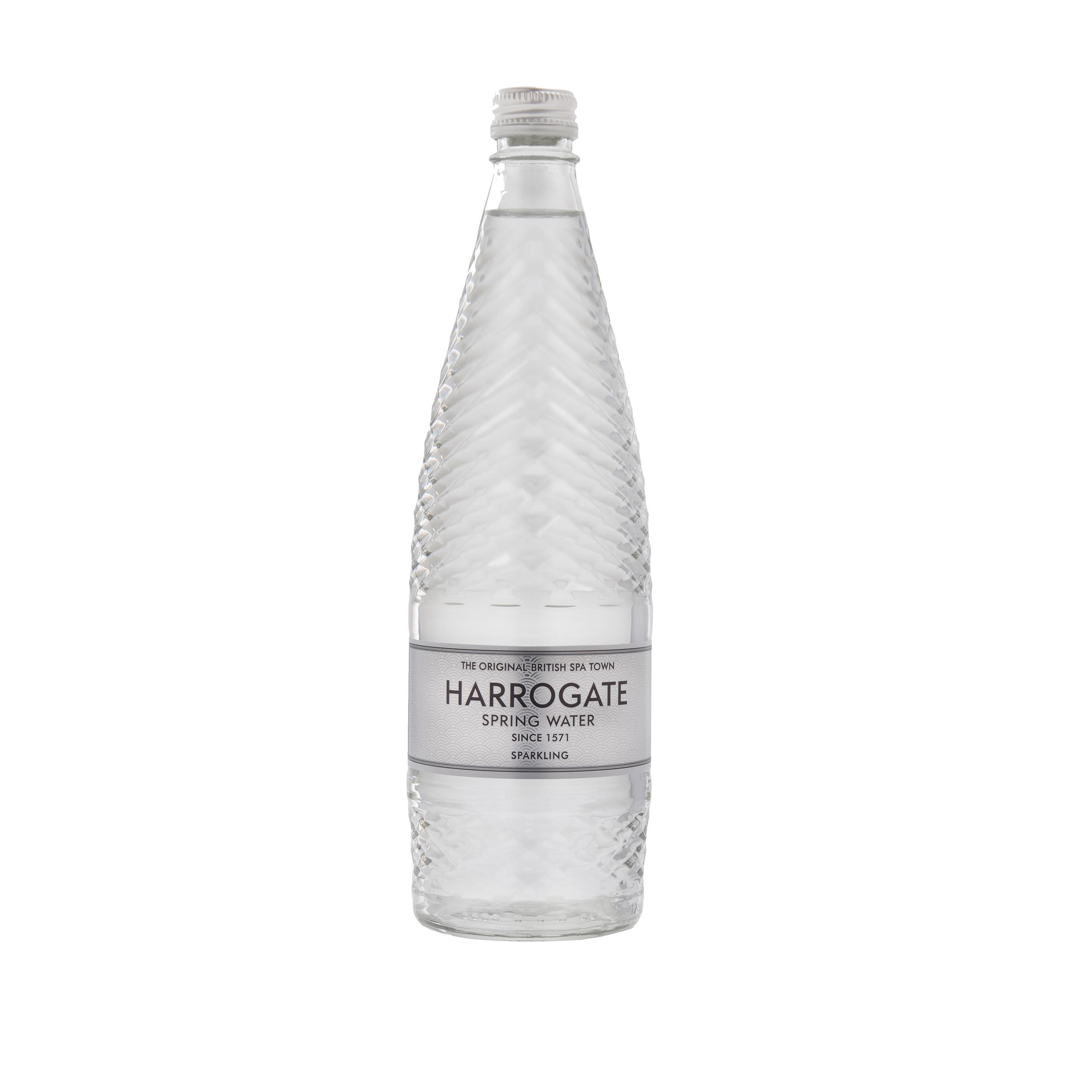 Harrogate Sparkling Water Glass Bottle 750ml Ref P750122C [Pack 12]