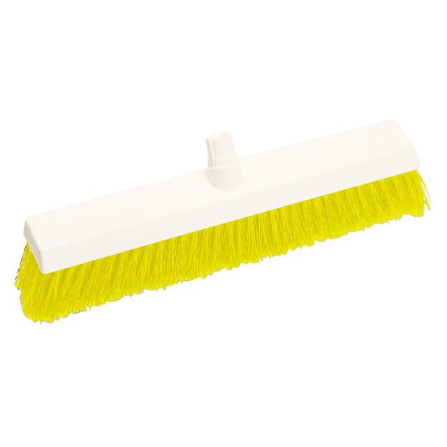 Scott Young Research Interchange Hygiene Hard Broom Head 12 inch Yellow Ref BHY12HY