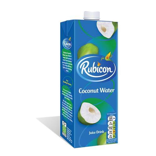 6 x 1ltr Rubicon Coconut Water 4943700