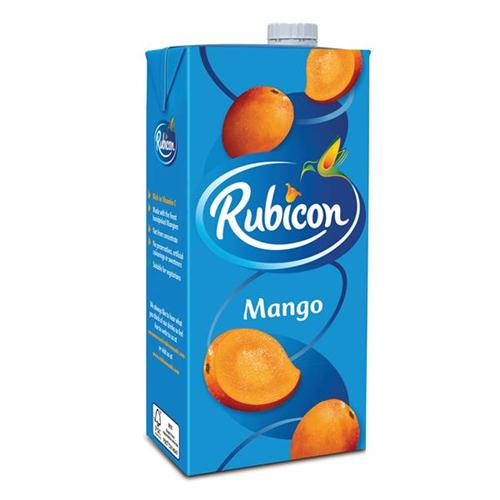 12 x 1ltr Rubicon Mango Juice 4954100