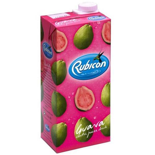 12 x 1ltr Rubicon Guava Juice 4958400