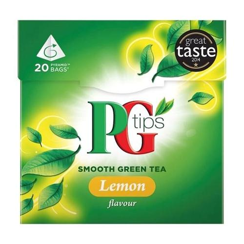 PG Tips Lemon Green Tea Pk 20 x 4 21954701