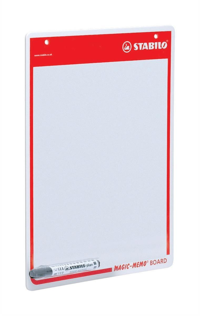Swan Stabilo Memo Board A3 Drywipe Surface With Pen Code 4219