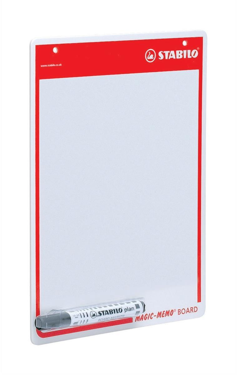 Swan-Stabilo Memo Board A4 Drywipe Surface With Pen Code 4218