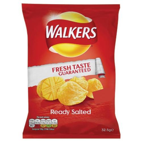 Walkers Ready Salted PK48 - 34779
