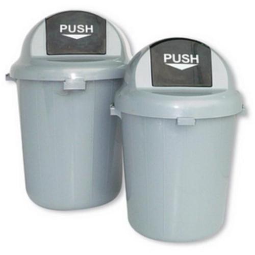 Image for **Plastic Push Bin 60L Grey