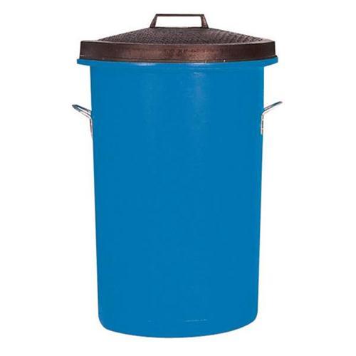 Dustbin Heavy Duty 85 Litres Blue