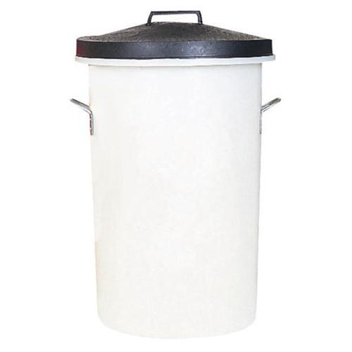 Dustbin Heavy Duty 85 Litres White
