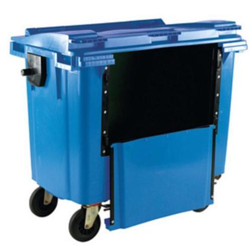 **Wheelie Bin 770L Drop Front Blue