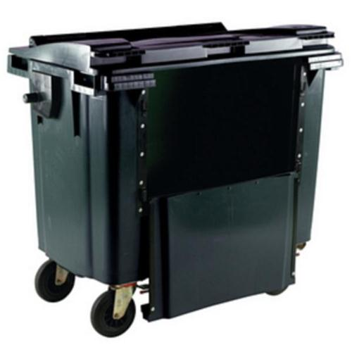 **Wheelie Bin 770L Drop Front Grey