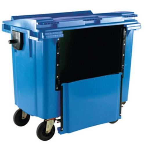 **Wheelie Bin 1100L Drop Front Blue
