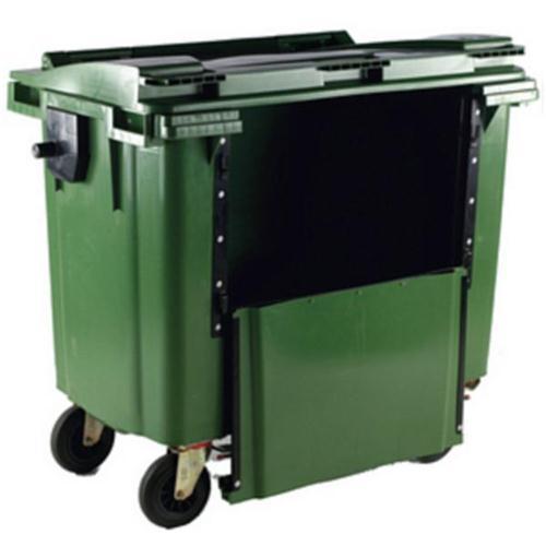 Image for **Wheelie Bin 1100L Drop Front Green