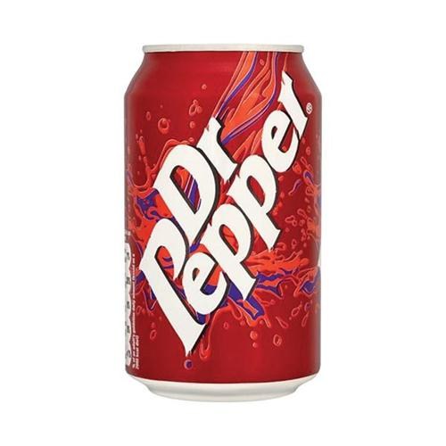 Dr Pepper Cans 330ml Pk24