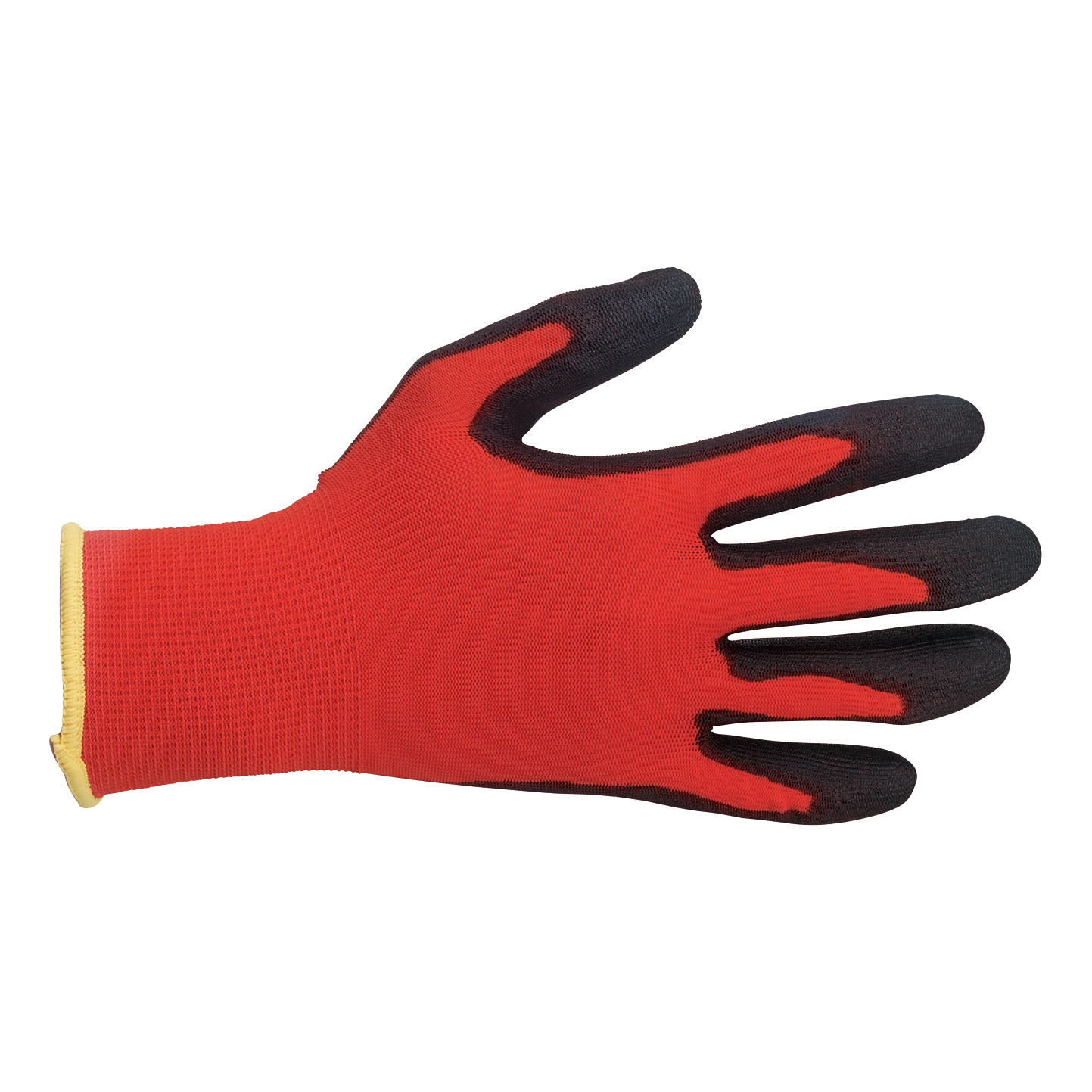 Polyco Safety Gloves PU Coated Size 8 Red/Black [Pair] Ref MRP/08