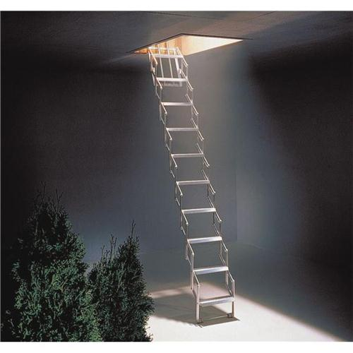Aluminium Concertina 11 Tread Ladder (Pack of 1) 329223