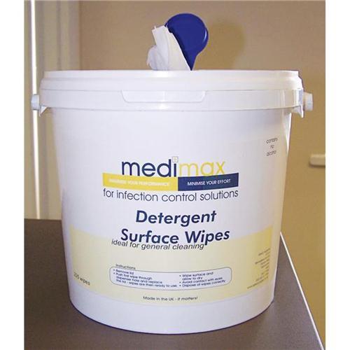 Medimax Detergent Surface Wipe PK150