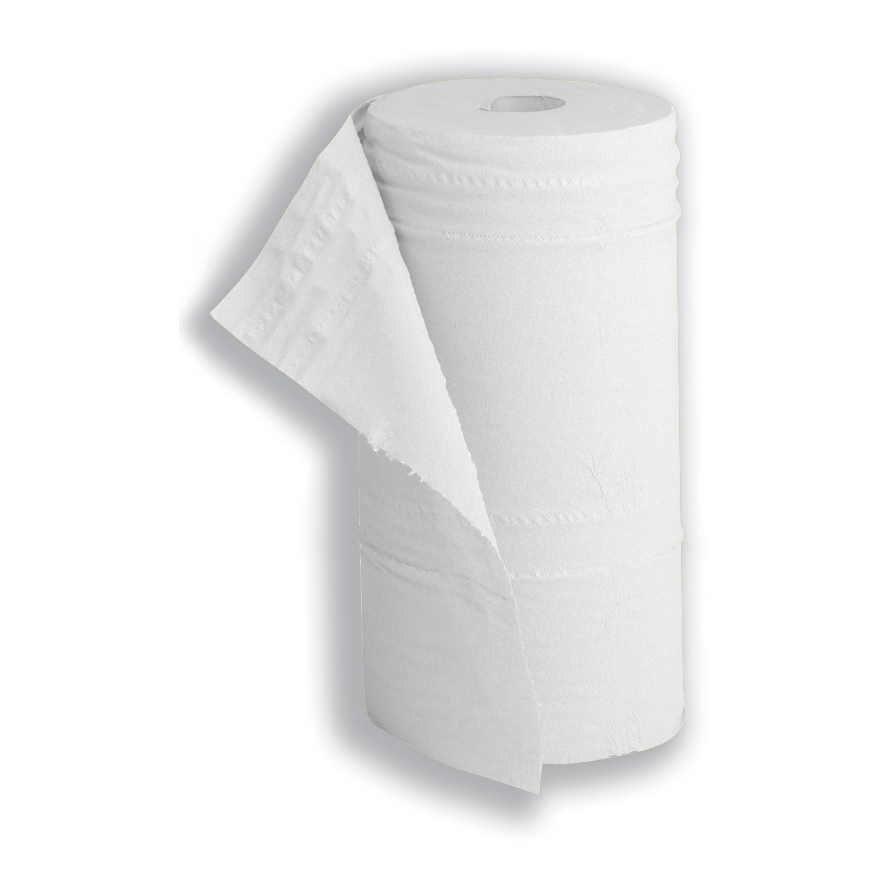 Image for 5 Star Facilities Hygiene Roll 10 Inch Width 100 per cent recycled 2-ply 130 Sheets W250xL457mm 40m White