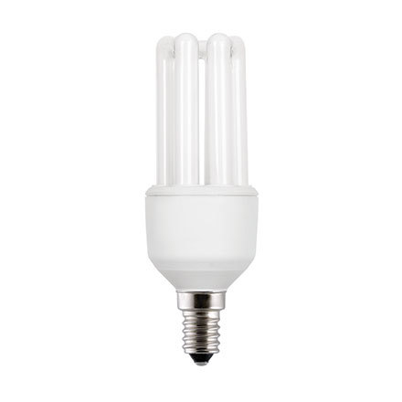Image for GE 11W T3 Hex E14 Compact Floures Tube 590lm EEC-A Extra Warm White Ref 71296 Up to 10 Day Leadtime