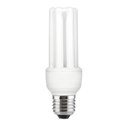 Image for GE 15W T3 Hex E27 Compact Floures Tube 850lm EEC-A Extra Warm White Ref 71116 Up to 10 Day Leadtime