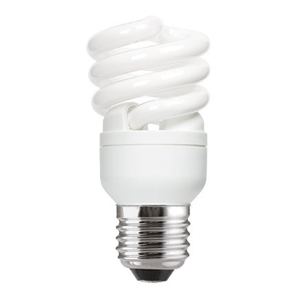 Image for GE 12W T2 Heliax E27 Spiral Cpt Flres Bulb Screw Fit 715lm EEC-A ExtWrmWht Ref85640 Upto 10Day Leadtime (0)