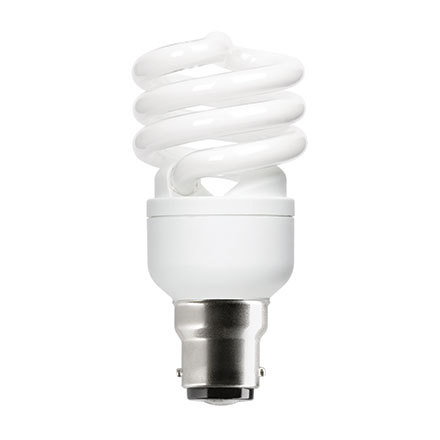 Image for GE 15W T2 Heliax B22d Spiral Cpt Flres Bulb Bayonet 950lm EEC-A  ExtWrmWht Ref85643Up to 10Day Leadtime (0)