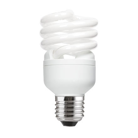 GE 20W T2 Heliax E27 Spiral Cpt Flrs Bulb Screw Fit 1200lm EEC-A Daylight Ref85647 Up to 10Day Leadtime