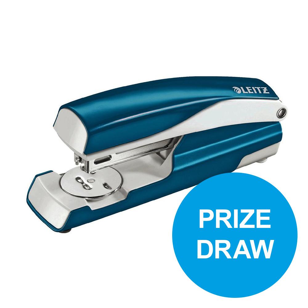Leitz NeXXt WOW Stapler 3mm 30 Sheet Blue Ref 55021036L [REDEMPTION] Oct-Dec19