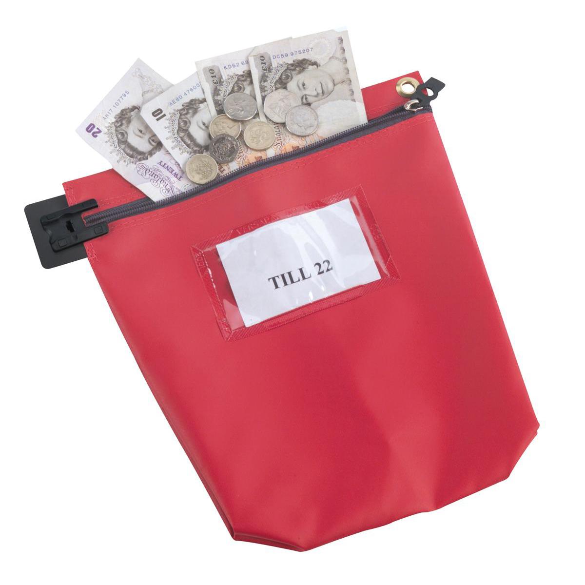 Medium Cash Bag Red CB1R