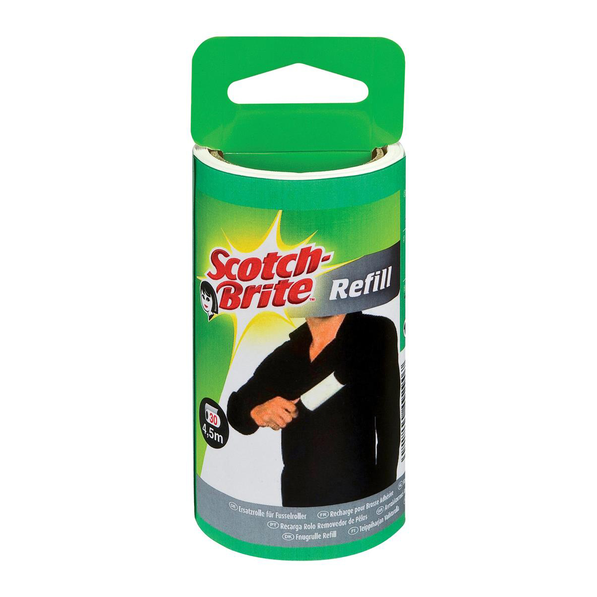Image for Scotch-Brite Lint Roller Refill [30 sheets] Ref 836RP