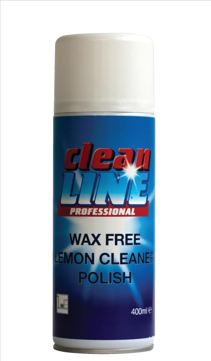 Cleanline Furniture Polish Wax Free Aerosol Spray 400ml Ref Y6067 [Pack 2]