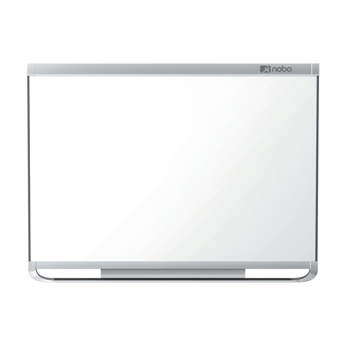 Nobo Prestige Enamel Whiteboard Connex Magnetic Fixings Included W1800xH1200mm White Ref 1902676