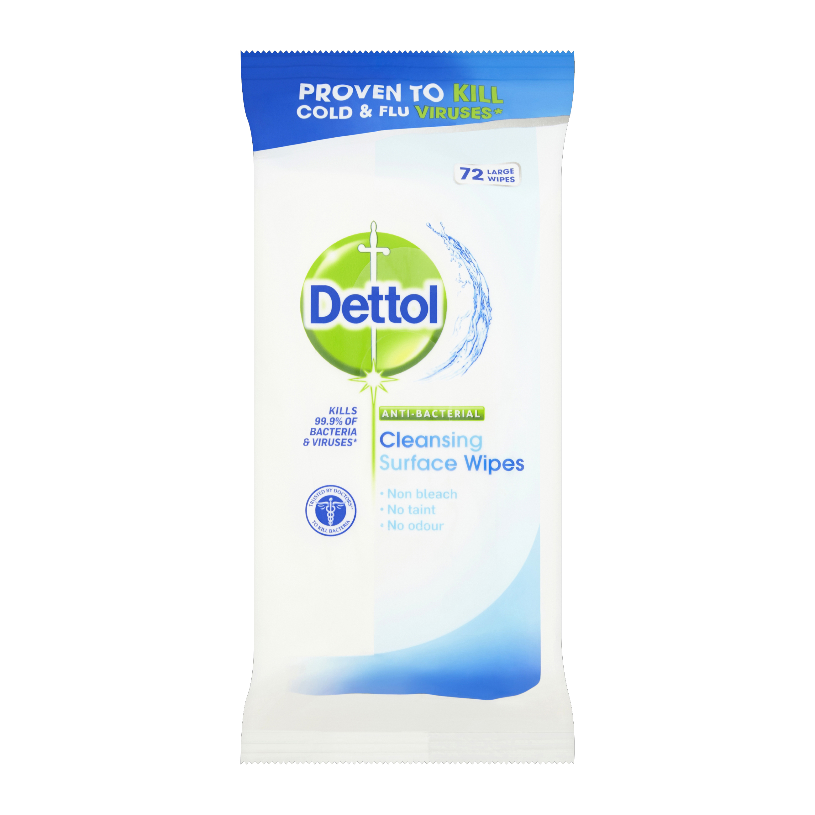 Dettol Antibacterial Surface Cleaning Wipes Ref 3007228 [Pack 84]
