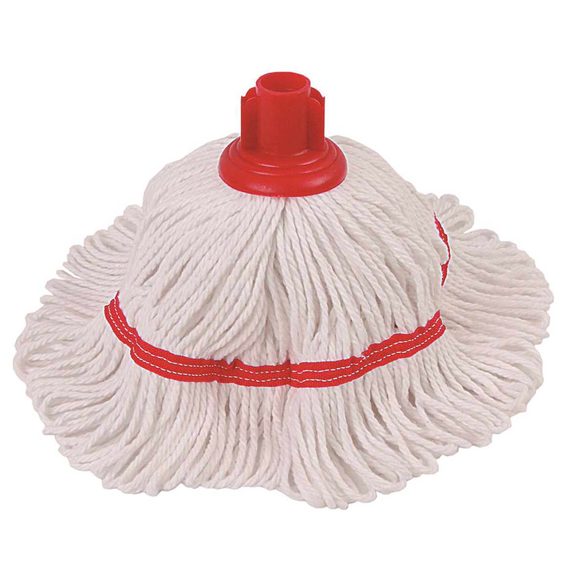 Robert Scott & Sons Hygiemix T1 Socket Cotton & Synthetic Colour-coded Mop 200g Red Ref 103062RED