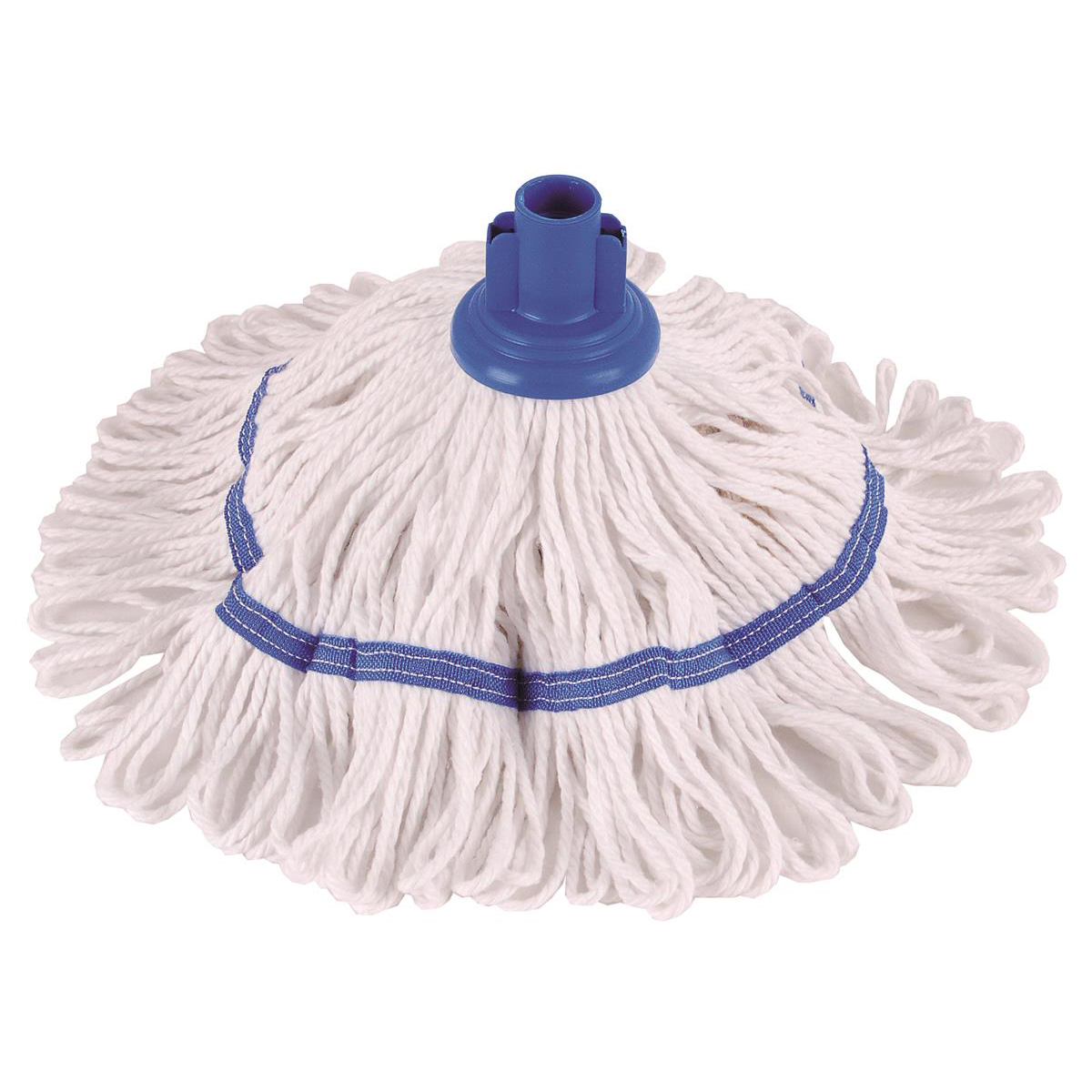 Robert Scott & Sons Hygiemix T1 Socket Cotton & Synthetic Colour-coded Mop 200g Blue Ref 103062BLUE