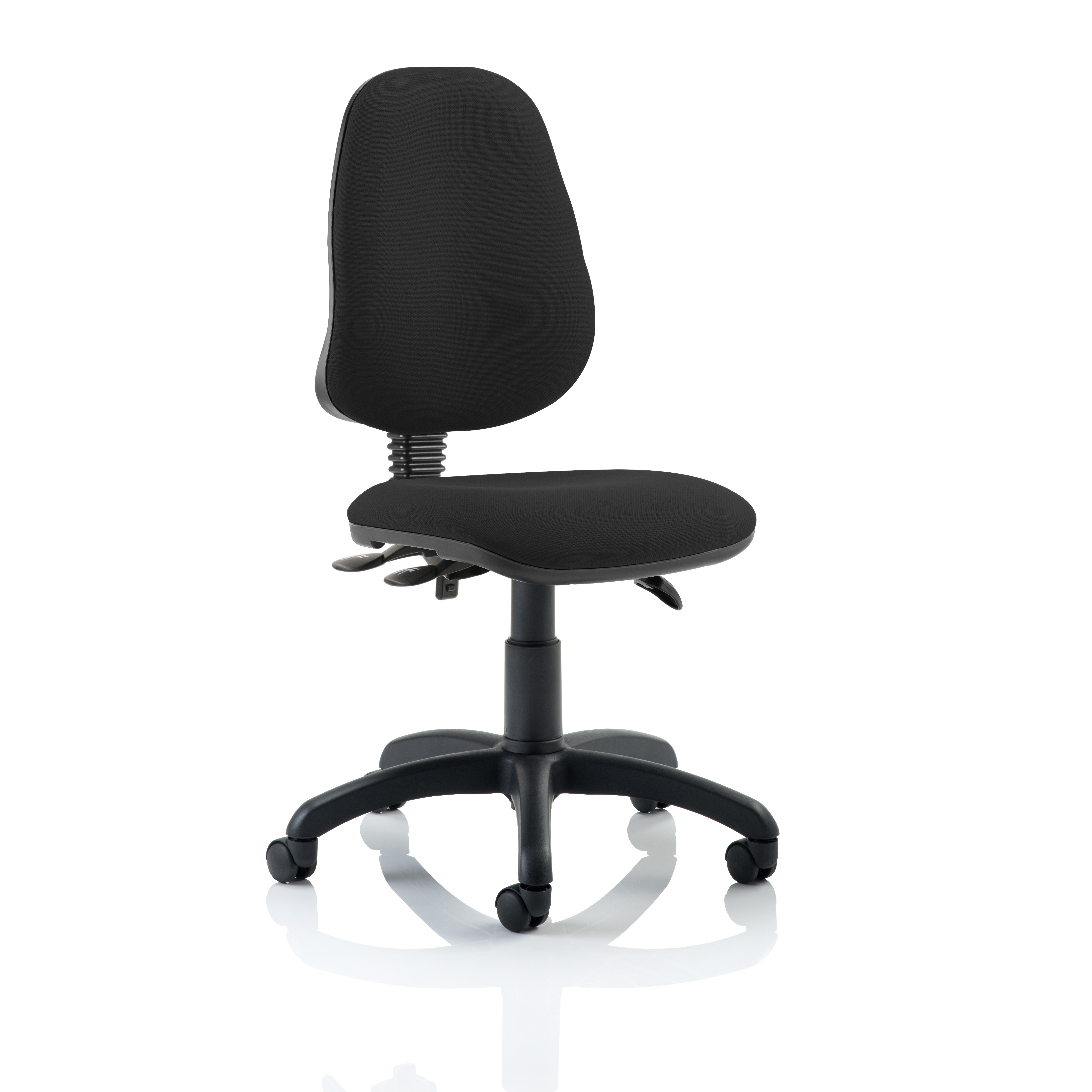 Trexus 3 Lever High Back Asynchronous Chair Black 480x450x490-590mm Ref OP000031