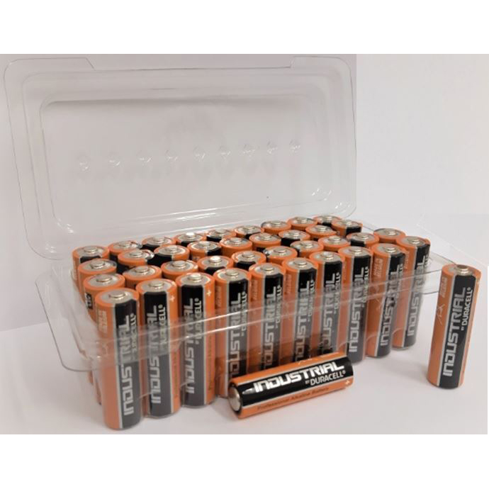 Duracell Batteries Alkaline AA Tub Ref AADURB40T [Pack 40]