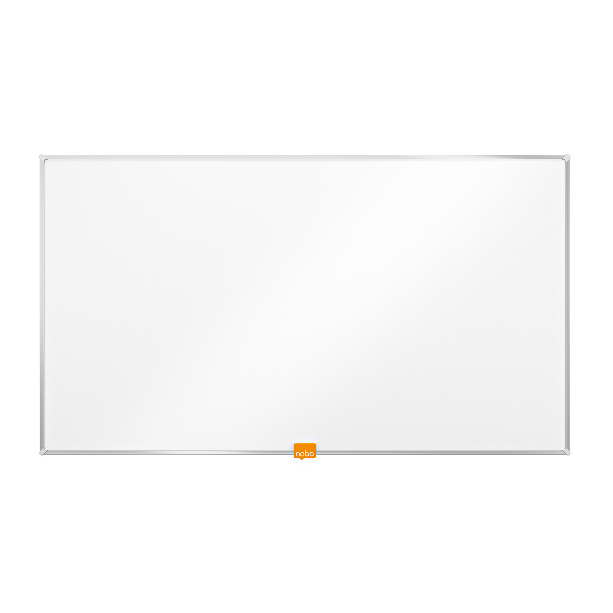 Nobo Widescreen 32 inch Whiteboard Melamine Surface Magnetic W721xH411 White Ref 1905291