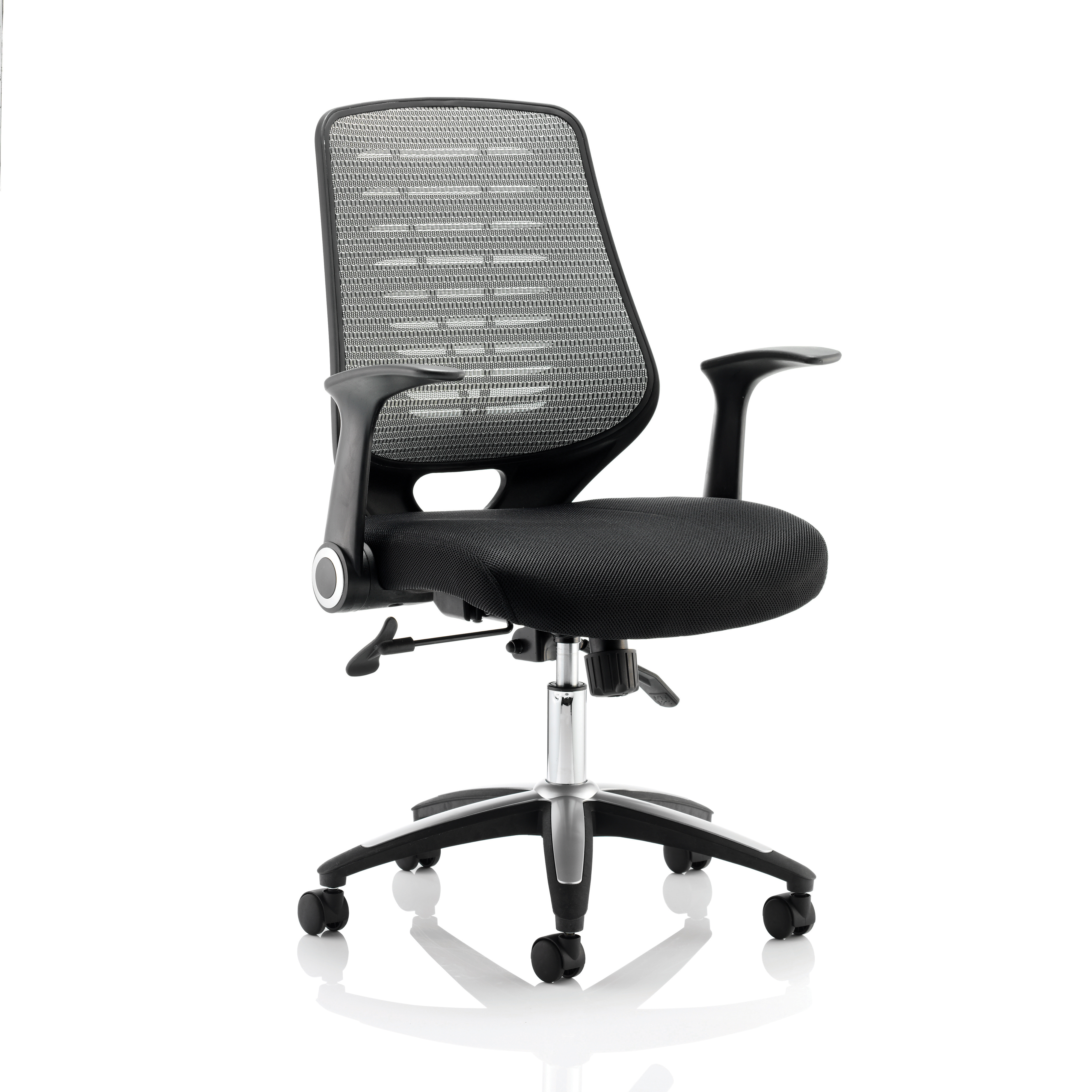 Image for #Sonix Relay Mesh Operator Chair Silver