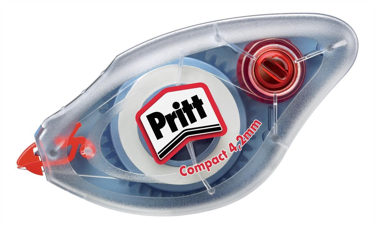 Pritt Compact Correction Roller Write-on or Type-on 4.2mmx8.5m Ref 680835 [Pack 10]
