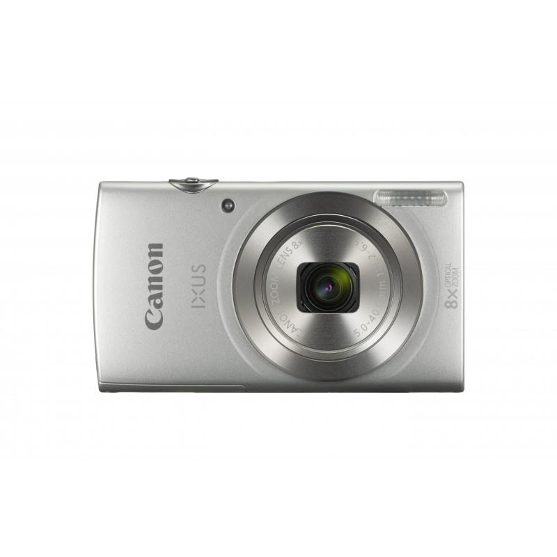 Image for Canon IXUS 185 Camera Kit 20MP 16x ZoomPlus Full HD Movies Case & 8GB SD card Silver Ref CAN2769