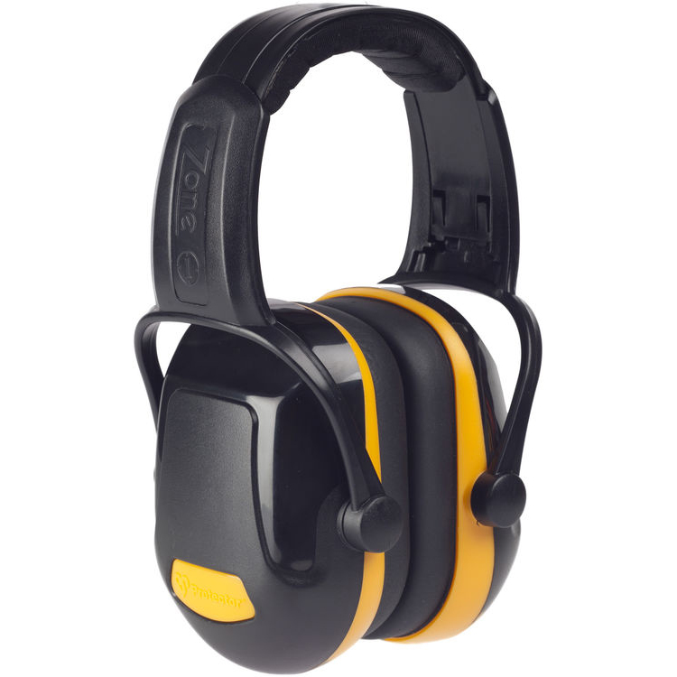 Scott Zone 1 Headband Industrial Ear Defenders SNR 29 Yellow Ref Z1HBE *Up to 3 Day Leadtime*