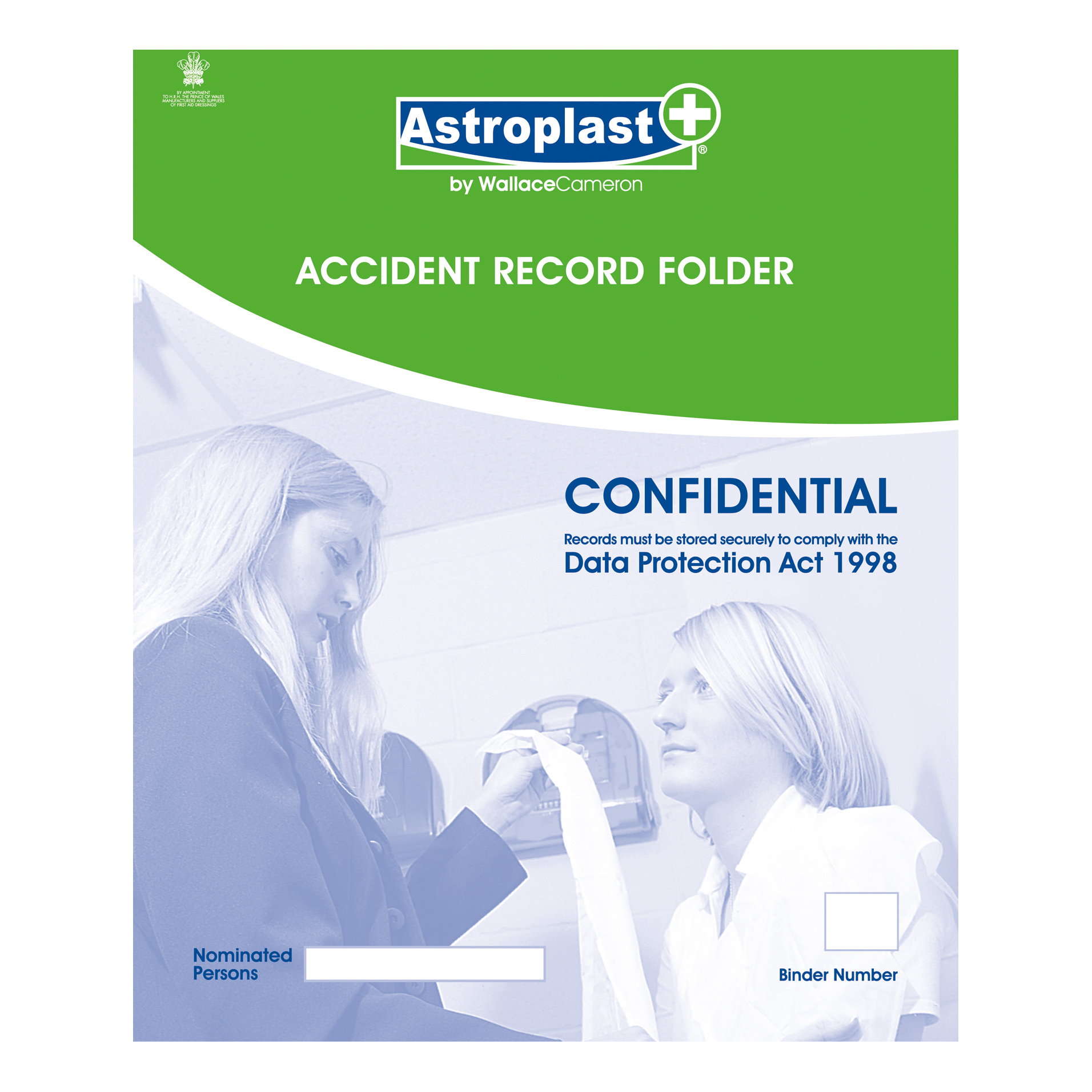 Image for Astroplast Accident Report Folder A4 Ref 5401010 (1)
