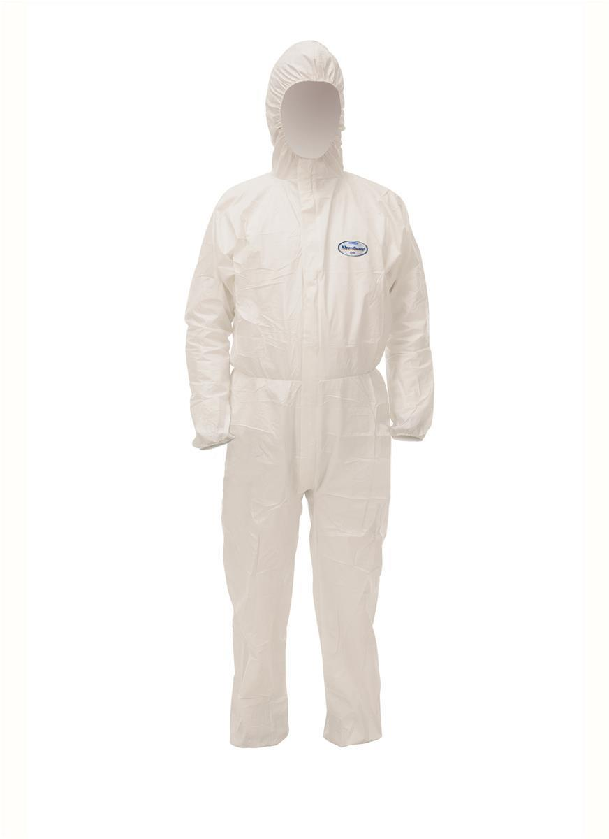 Kleenguard A40 Coverall Film Laminate Fabric Particle-resistant Anti-static EN 1149-1 X Large 97930