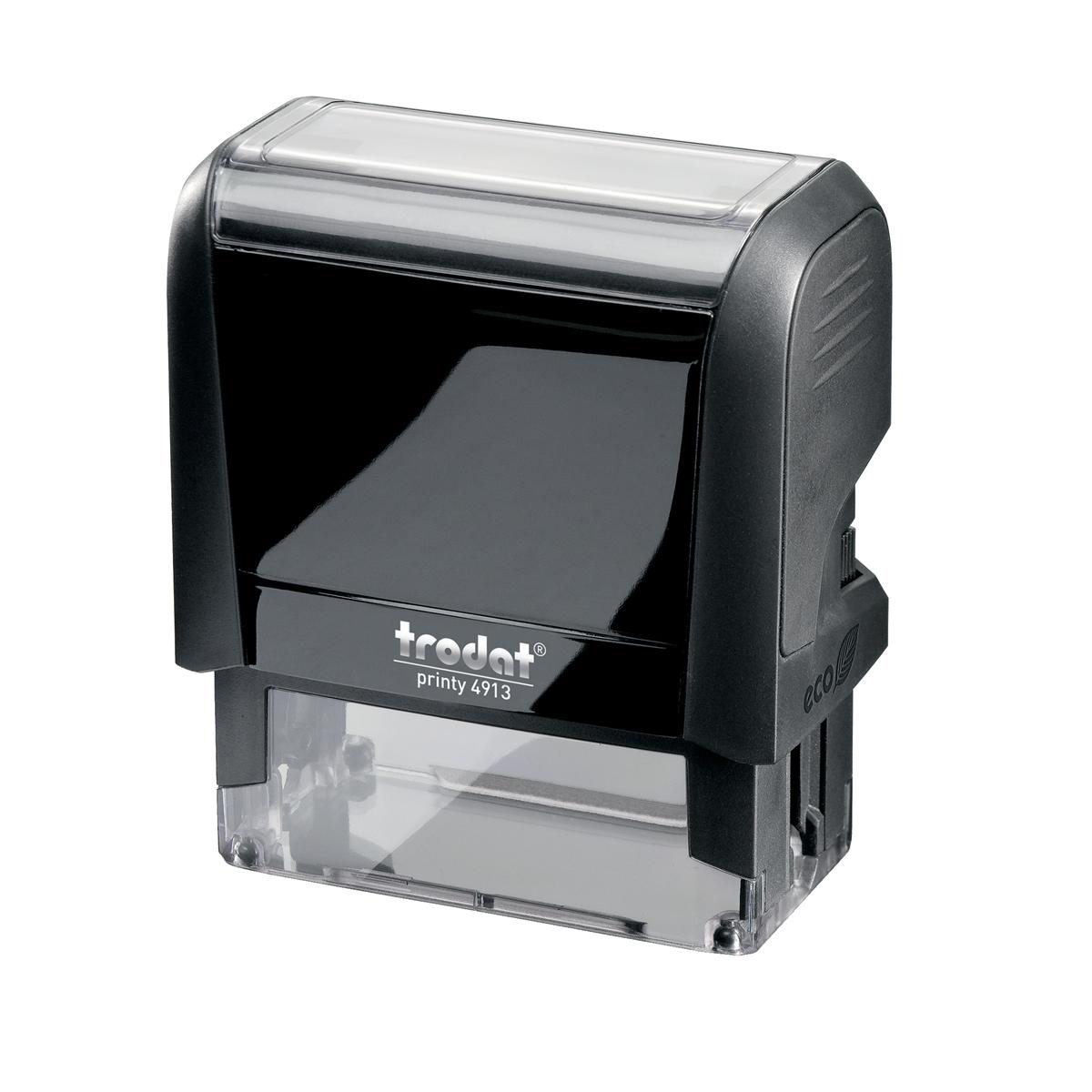 Trodat Printy 4913 Custom Stamp Self-Inking Up to 6 lines 56x22mm Ref 199897