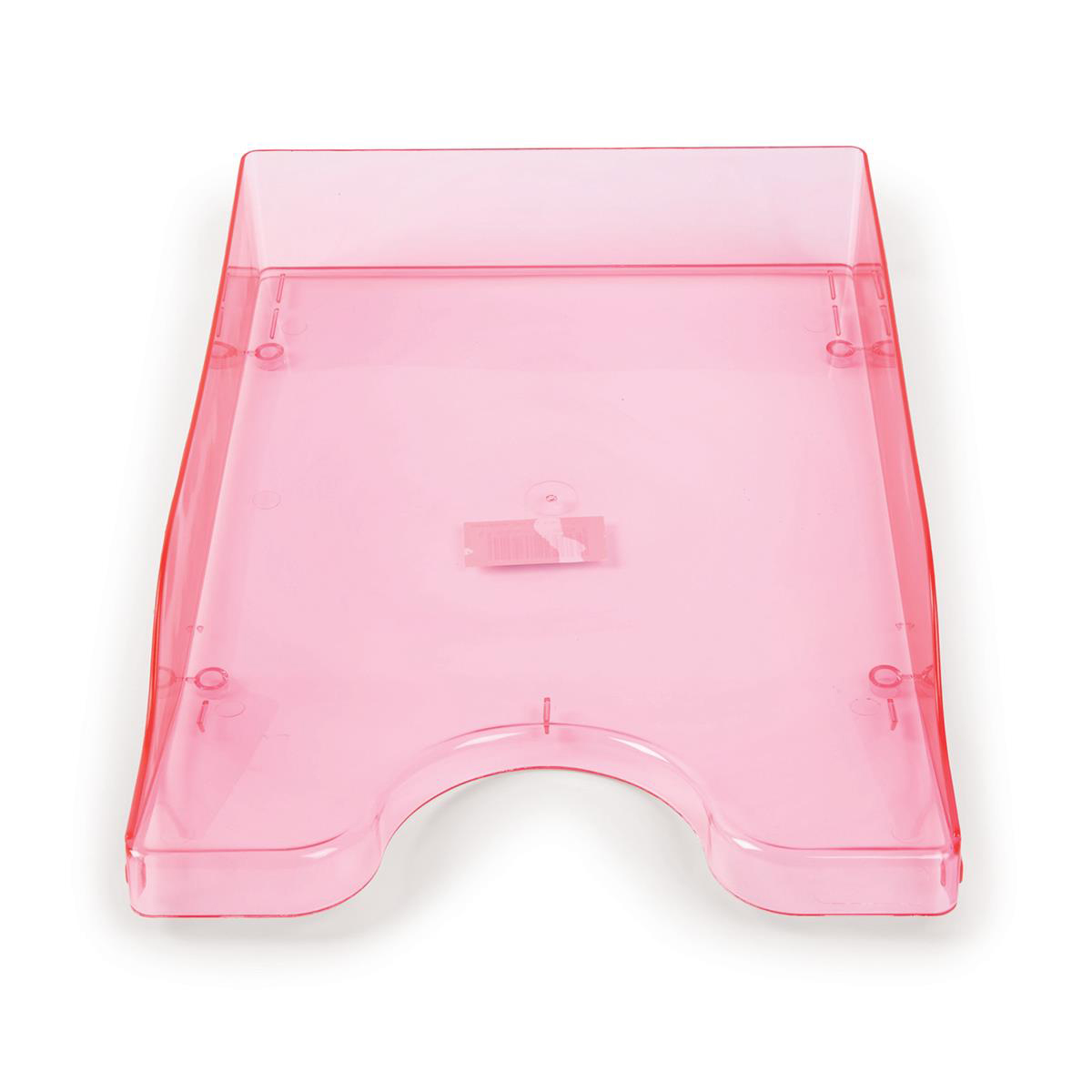 Continental Letter Tray Polystyrene for A4 Foolscap and Computer Printouts Ice Pink