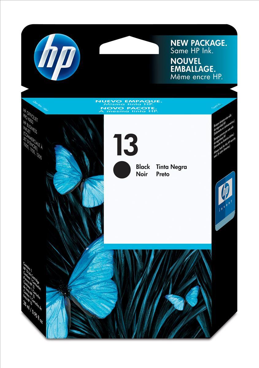 HP 13 Inkjet Cart Black C4814AE