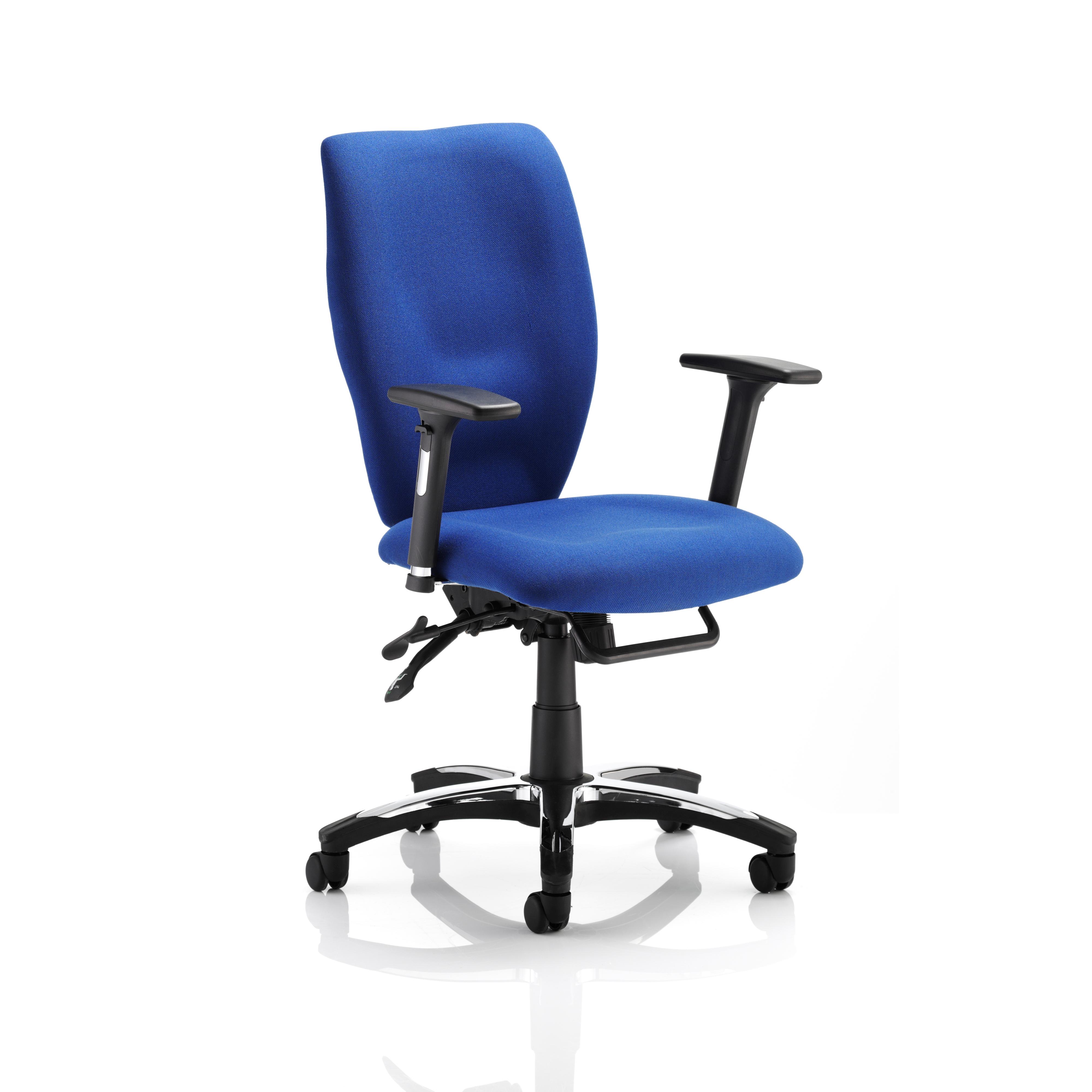 Sonix Sierra Chair Blue 520x470-530x450-550mm Ref OP000177